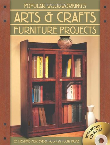 9781558708464: Popular Woodworking's Arts & Crafts Furniture: 25 Designs For Every Room In Your Home