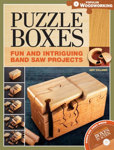Puzzle Boxes: Fun and Intriguing Bandsaw Projects: Vollmer, Jeff