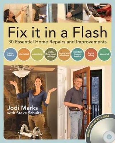 9781558708631: Fix it in a Flash: 25 Common Home Repairs and Improvements