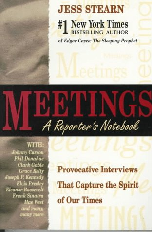 9781558745001: Meetings: A Reporter's Notebook