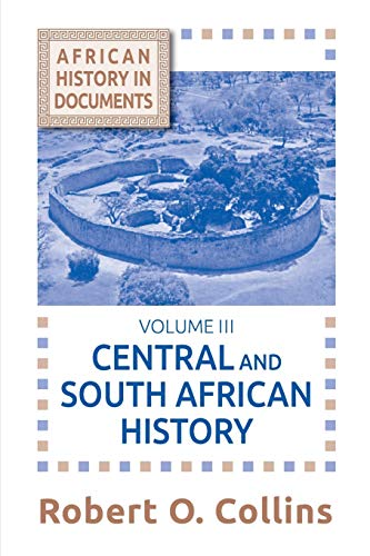 9781558760172: Central and South African History (Topics in World History) (v. 3)