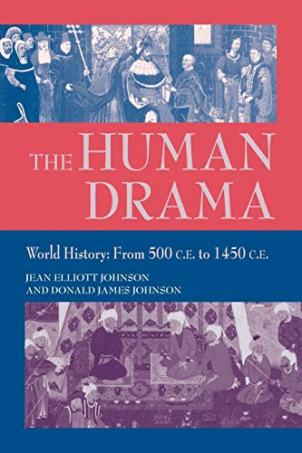 Thr Human Drama, Vol II (9781558762206) by Jean Elliott Johnson; Donald James Johnson
