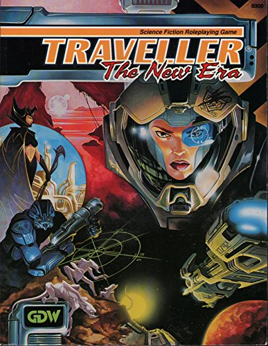 9781558781160: Traveller: The New Era (Science Fiction Roleplaying Game)