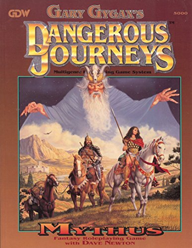 Mythus (Dangerous Journeys Ser): Gary Gygax