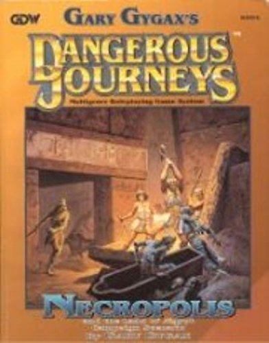 9781558781436: The Necropolis - And the Land of Egypt (Dangerous Journeys/Mythus RPG)