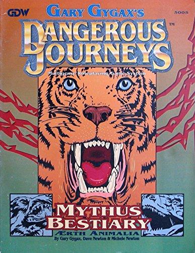 Mythus Bestiary (Dangerous Journeys): Gary Gygax, Dave Newton, Michele Newton