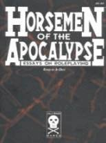 Horsemen of the Apocalypse: Essays on Roleplaying (JOL 003) (1558782400) by Jim Dietz; Gary Gygax; Richard Garfield; Greg Costikyan; Marc Miller; Matt Forbeck; Greg Stafford; Rick Loomis