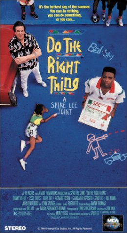 9781558801592: Do the Right Thing [VHS] [Import USA]
