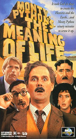 9781558806764: Monty Python's The Meaning of Life [VHS]
