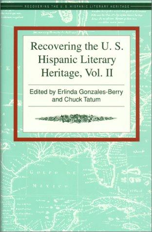 9781558851399: Recovering the US Hispanic Literary Heritage