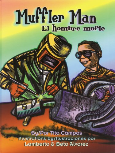 9781558855571: Muffler Man / El Hombre Mofle (English and Spanish Edition)