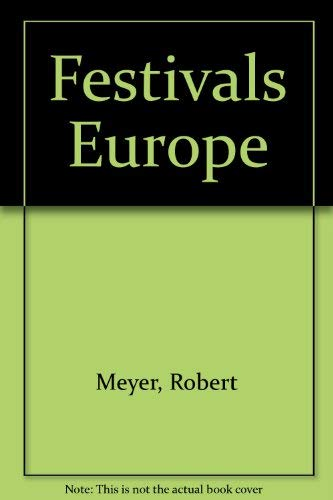 9781558881730: Festivals Europe