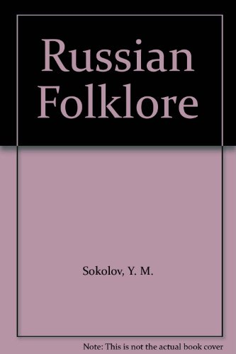 9781558882201: Russian Folklore