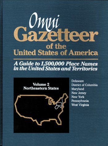 Omni Gazetteer of the United States of America: Northeastern States (1558883266) by Frank R. Abate