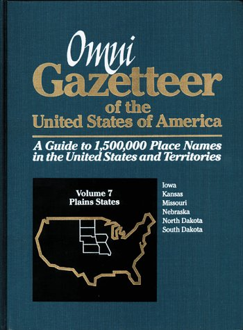 Omni Gazetteer of the United States of America: Plains States (1558883312) by Frank R. Abate