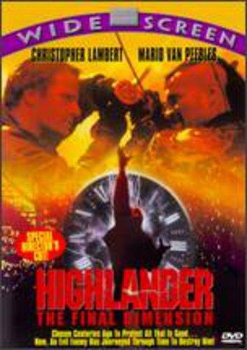 9781558908468: Highlander: Final Dimension /