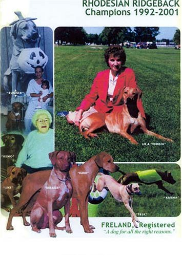 9781558930698: Rhodesian Ridgeback Champions, 1992-2001