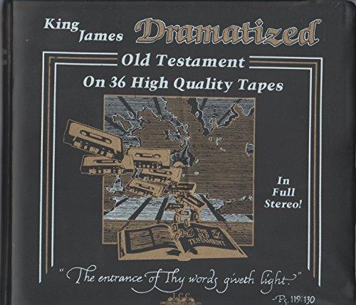 9781558940093: King James Dramatized Old & New Testament - 48 Tape Set (Royal Shakespeare Company)