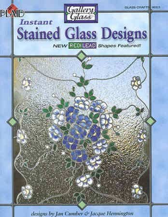 9781558950870: Instant Stained Glass Designs (Gallery Glass, Glass Crafts # 9718)