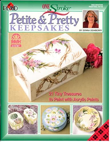 FOLK ART PAINTING} Petite & Pretty Keepsakes : 21 Tiny Treasures to Paint with Acrylic Paints: ...
