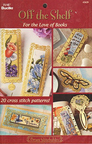 9781558951457: Off the Shelf for the Love of Books (Brass Stitchables)