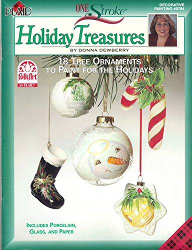 CHRISTMAS CRAFTS} One Stroke Holiday Treasures: 18 Tree Ornaments to Paint for the Holidays - ...