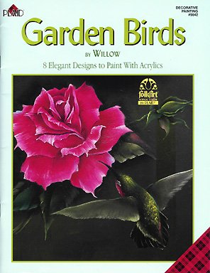 9781558952096: Garden Birds: 8 Elegant Designs to Paint with Acrylics