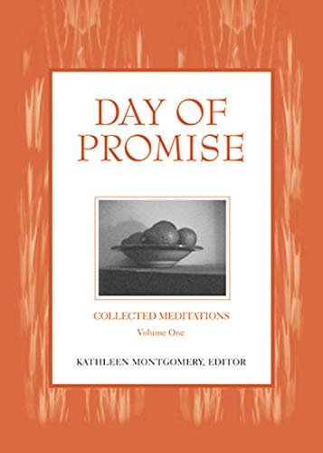 9781558964198: Day of Promise: Selections from Unitarian Universalist Meditation Manuals (Collected Meditations, V. 1)