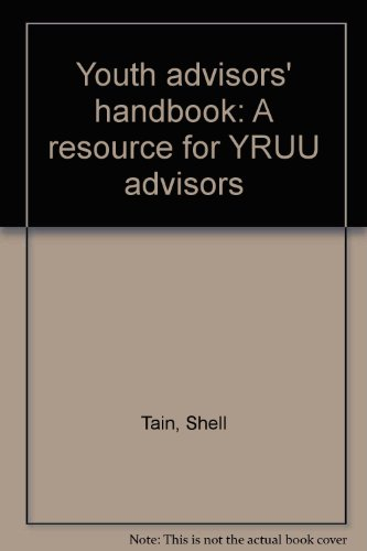 9781558964617: Youth advisors' handbook: A resource for YRUU advisors