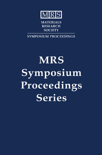 Thin Films - Structure and Morphology: Volume 441 (MRS Proceedings): E. D. Williams