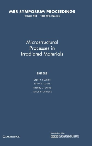9781558994461: Microstructural Processes in Irradiated Materials: Volume 540 (MRS Proceedings)