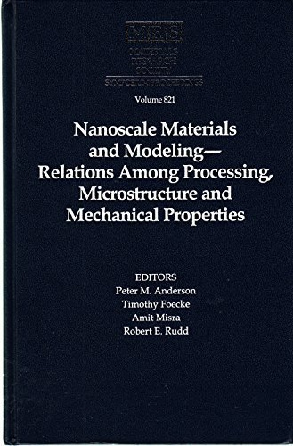 Nanoscale Materials and Modeling--Relations among Processing, Microstructure: P. Anderson Et
