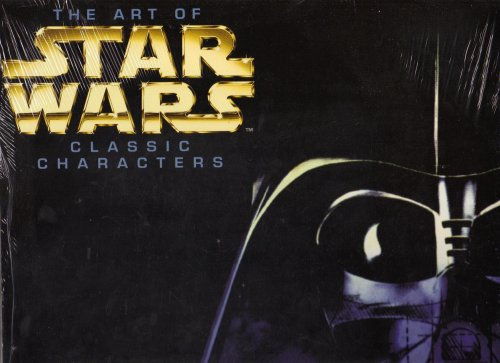 9781559125208: The Art of Star Wars Classic Characters 1998 Calendar