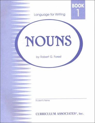 Language for Writing Nouns: Book 1: Robert G. Forest