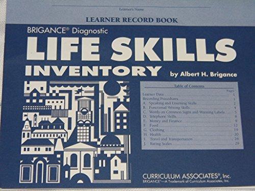 9781559152037: Life Skills Inventory from Brignance Diagnostic