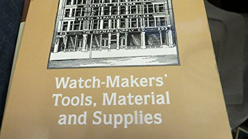 Watchmakers Tool Catalog