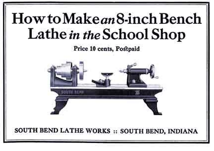 How to Make an 8-Inch Bench Lathe: O'Brien Brothers