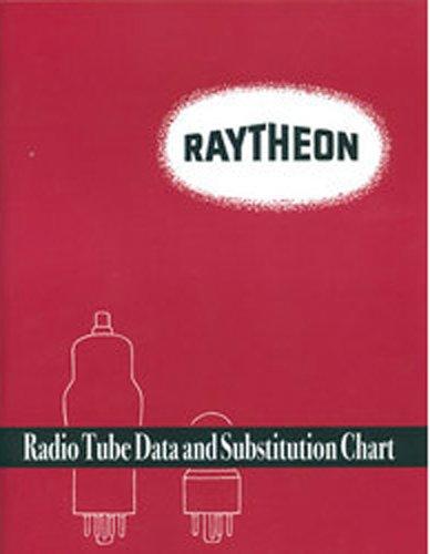 Raytheon Radio Tube Data and Substitution Chart: Raytheon.