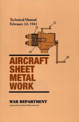 9781559183949: Aircraft Sheet Metal Work (Technical Manual 1-435, 1941)