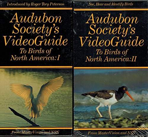 9781559190749: Audubon Society's VideoGuide To Birds of North America 1-5 [VHS]
