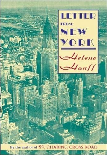 9781559210645: Letters from New York