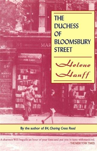 9781559211444: Duchess of Bloomsbury Street