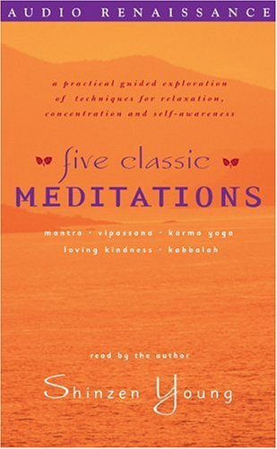 Five Classic Meditations (9781559270359) by Shinzen Young