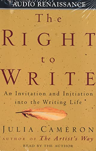 9781559275231: The Right to Write: An Invitation and Initiation into the Writing Life