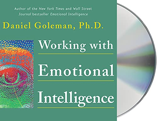 9781559277006: Working with Emotional Intelligence (Leading with Emotional Intelligence)
