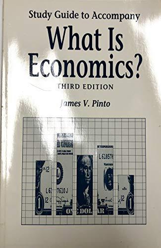 9781559342353: What Is Economics