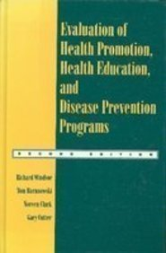 9781559342438: Evaluation of Health Promotion, Health Education and Disease Prevention Programs.
