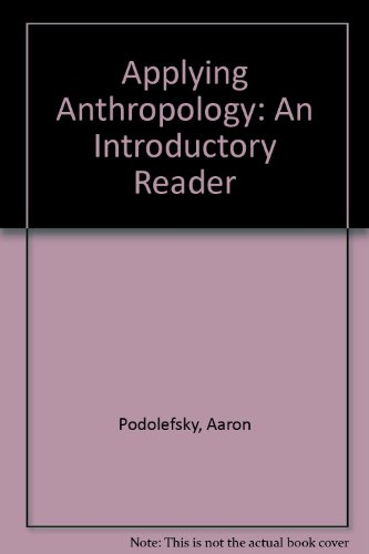 9781559343176: Applying Anthropology: An Introductory Reader