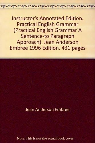 Practical English Grammar (Practical English Grammar A: Jean Anderson Embree