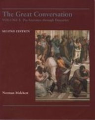 9781559344760: The Great Conversation: Pre-Socratics Through Descartes
